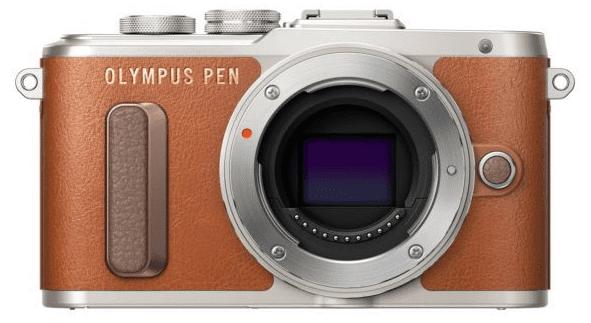 Olympus PEN E-PL8 hnědo-stříbrný + 14-42 EZ