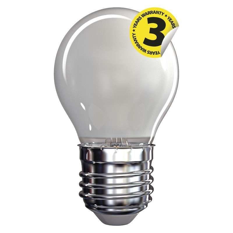 EMOS LED FLM MINI GL WW FR, žárovka 4W E27