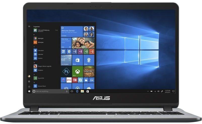 Asus X507UF-EJ256T šedý + dárek Microsoft Office 365 pro jednotlivce - 1 uživatel/1 rok zdarma