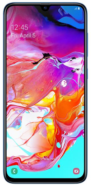Samsung Galaxy A70 128 GB modrý