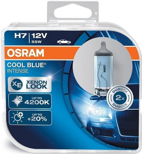OSRAM H7 Cool Blue Intense 12V 55W Autožárovka 2ks