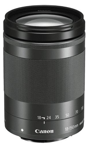 Canon EF-M 18-150mm f/3,5-6,3 IS STM, černý