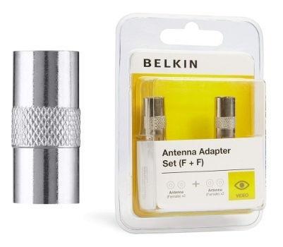 Belkin F3Y063BF - anténní kovová koax zástrčka