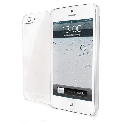 Celly průsvitný silikonový obal pro iPhone 5