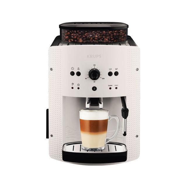 KRUPS EA 810570 (bílá) - Automatické espresso + dárek ILLY 100% arabica - zrnková káva 250g zdarma