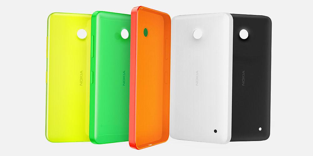 Nokia kryt CC-3084 pro Lumia 530 (oranžový)