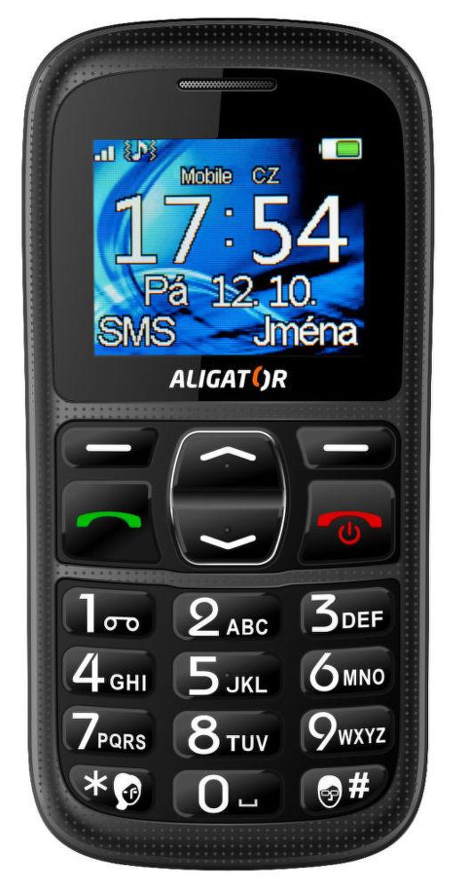 Aligator A420 Senior (černý)