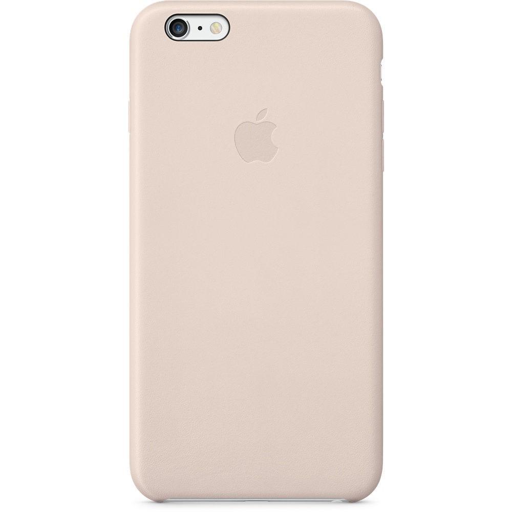 Apple iPhone 6 Plus kožené pouzdro (růžové)