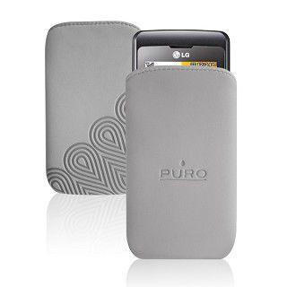 Puro nabuk mobilní pouzdro (šedý)