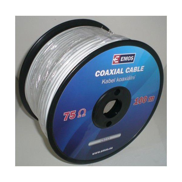 Emos CB113 - koax. anténní kabel, 1m