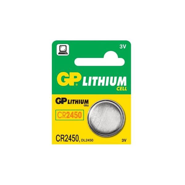 GP baterie CR2450 - líthiová knoflíková baterie