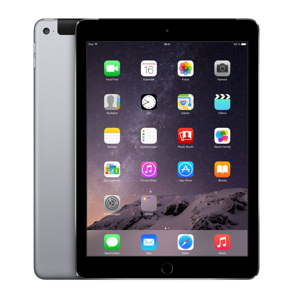 Apple iPad Air 2 16 GB WiFi + Cellular (šedý)