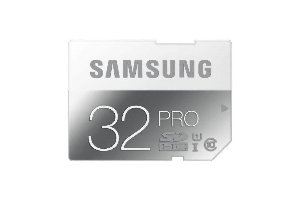 SAMSUNG 32 GB SDHC PRO Class 10