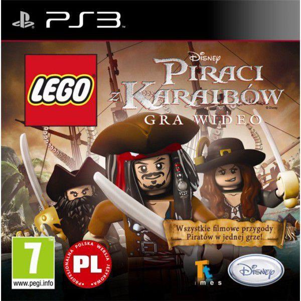 Lego Piráti z karibiku - hra pro PS3