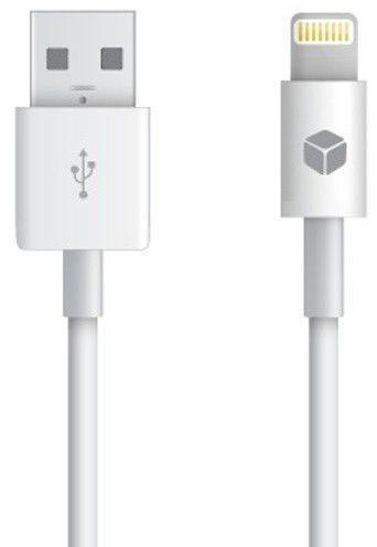 Sturdo Lightning nabíjecí kabel MFI pro iPhone (bílý)