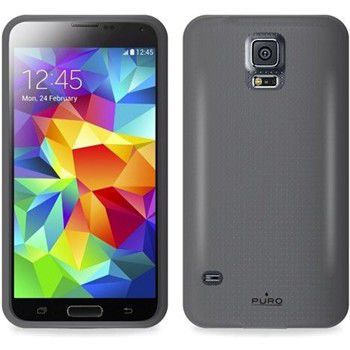 Puro silikonový kryt pro Sansung Galaxy S5 mini (černý)