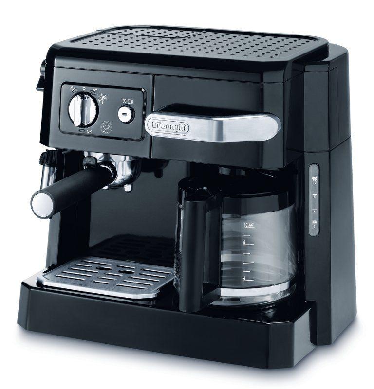 DELONGHI BCO 410.1 (černá) - Pákové espresso a překapávací kávovar