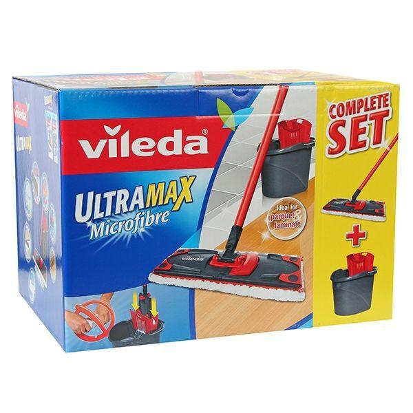 vileda ultramat set box mop. Black Bedroom Furniture Sets. Home Design Ideas
