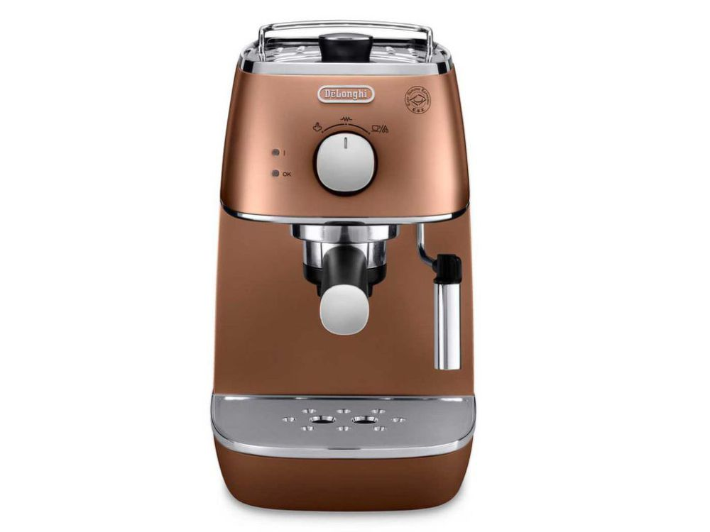 DELONGHI ECI 341.CP Distinta (medená) - Pákové espresso