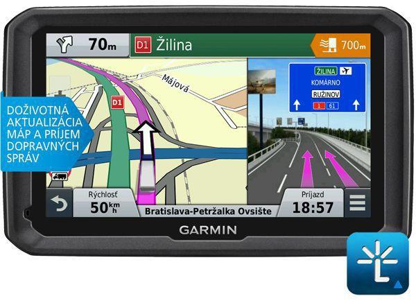 GARMIN dezl 770LMT Lifetime - navigace