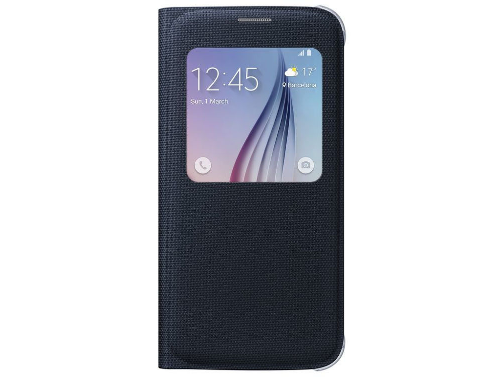 Samsung EF-CG920BB Flipové pouzdro S View pro Galaxy S6