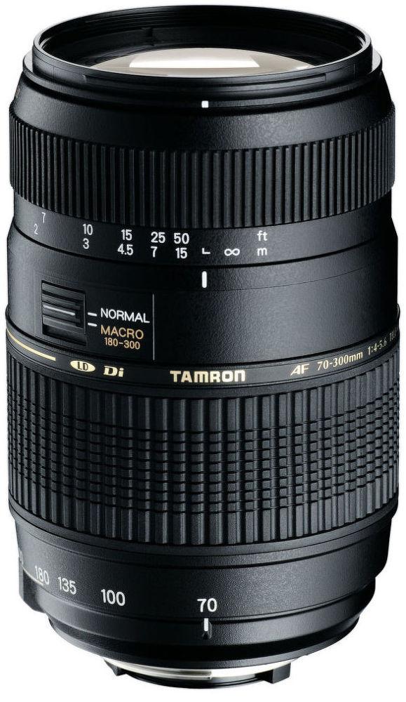 Tamron AF 70-300mm F/4-5.6 Di LD MACRO 1:2 pro Canon