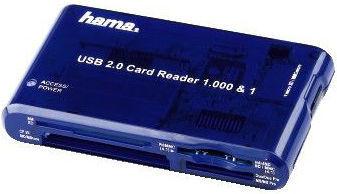 Hama Traveldrive 1000v1 55350 - čtečka karet