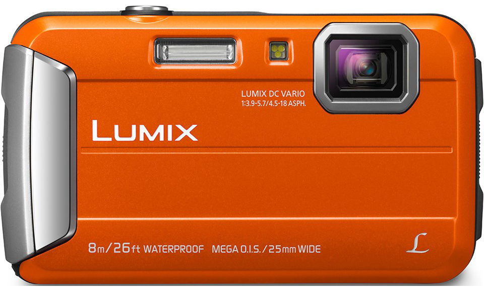 Panasonic Lumix DMC-FT30 (oranžový)