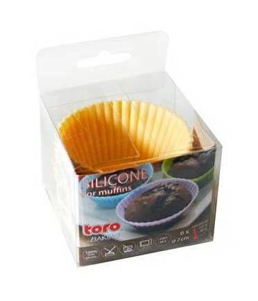 TORO Silikonové košíčky k pečení muffinů