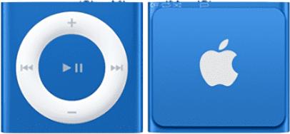 Apple iPod Shuffle 2GB (modrý) MKME2HC/A