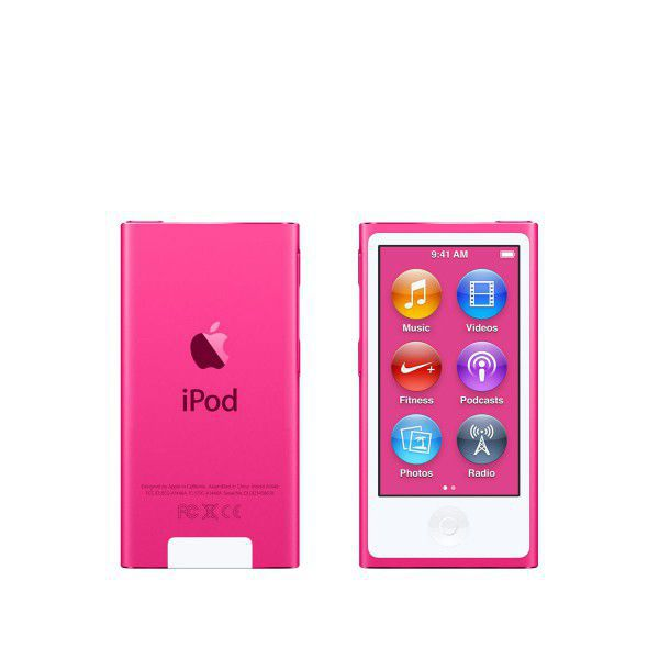 Apple iPod Nano 16GB (růžový) MKMV2HC/A