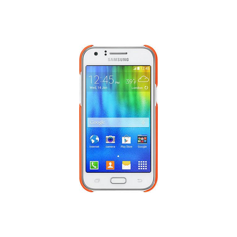 Samsung EF-PJ100B ochranný zadní kryt pro Galaxy J1 (oranžový)