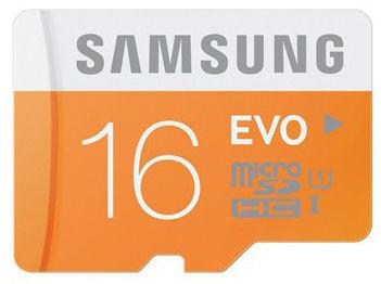 Samsung micro SDHC EVO 16GB class 10