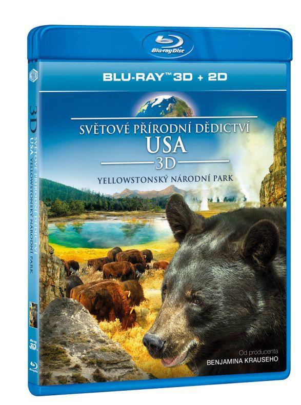Světové přírodní dědictví: USA - Yellowstonský národní park 3D Blu-ray film