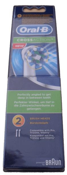 Oral-B EB 50-2 Cross Action náhradní kartáčky (2ks)