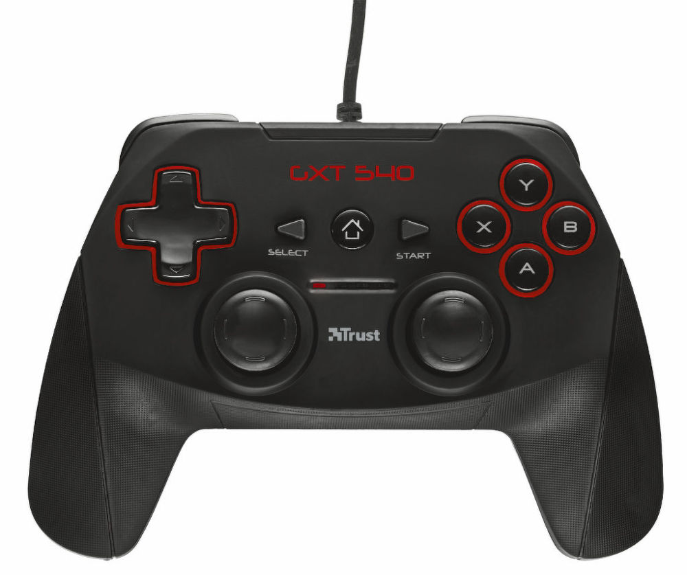 Trust GXT 540 Wired Gamepad (PC, PS3)