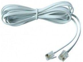 Smarton kabel tel. prodlužovací, 10m (bílý)