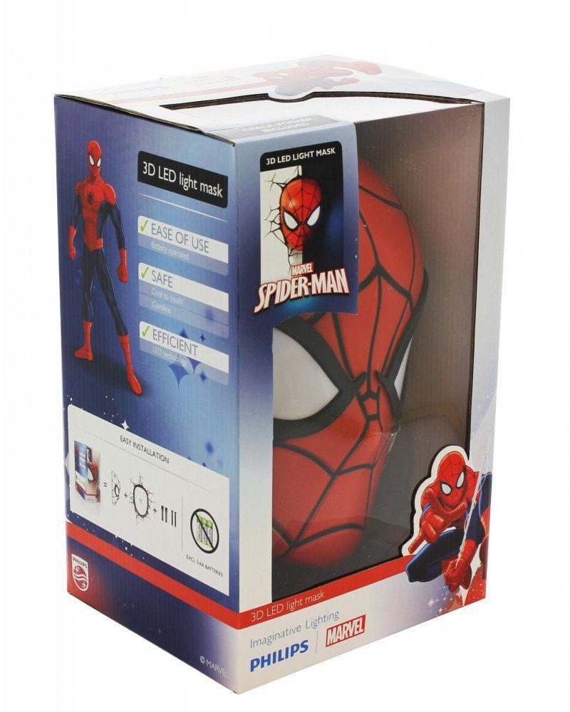 Philips 3D Spiderman - světlo na zeď