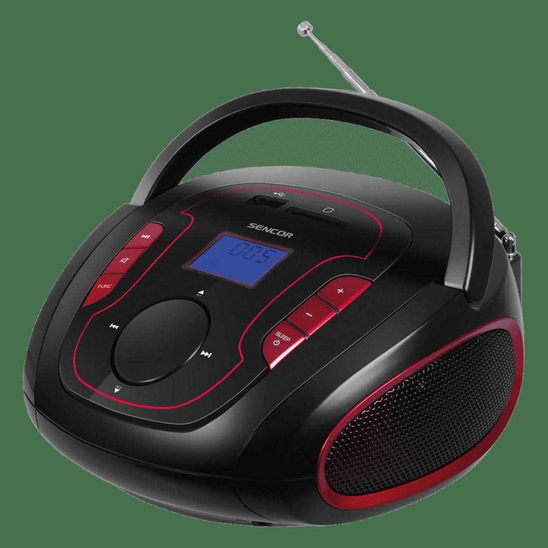 Sencor SRD 230 BBU (černo-červené)
