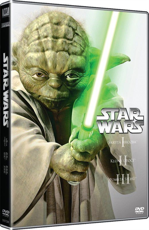 Star Wars (I, II, III) - 3xDVD film