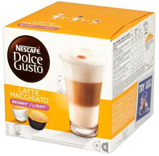 Nescafé Dolce Gusto Latte Macchiato Skinny (16ks)