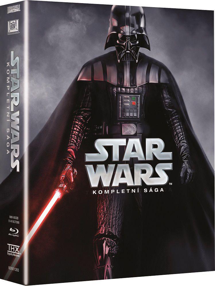Star Wars - kompletní sága - 9xBlu-ray