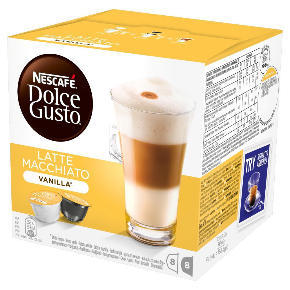 Nescafé Dolce Gusto Latte Macchiato Vanilla (16ks)