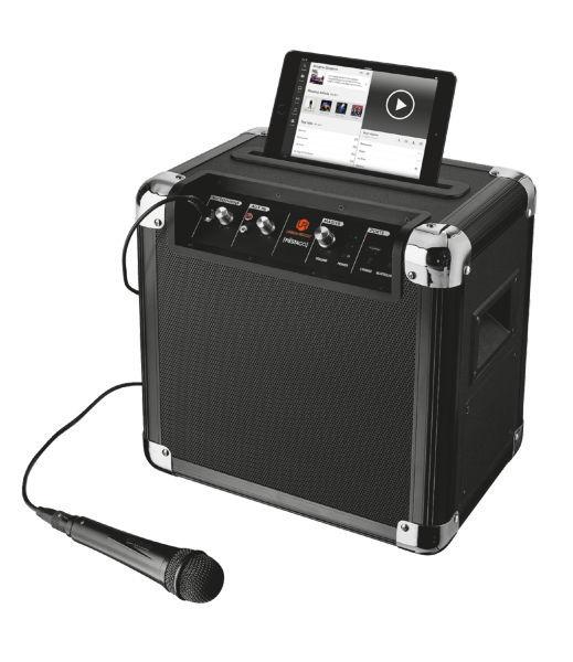 Trust Fiësta GO Bluetooth Party Speaker (černý)