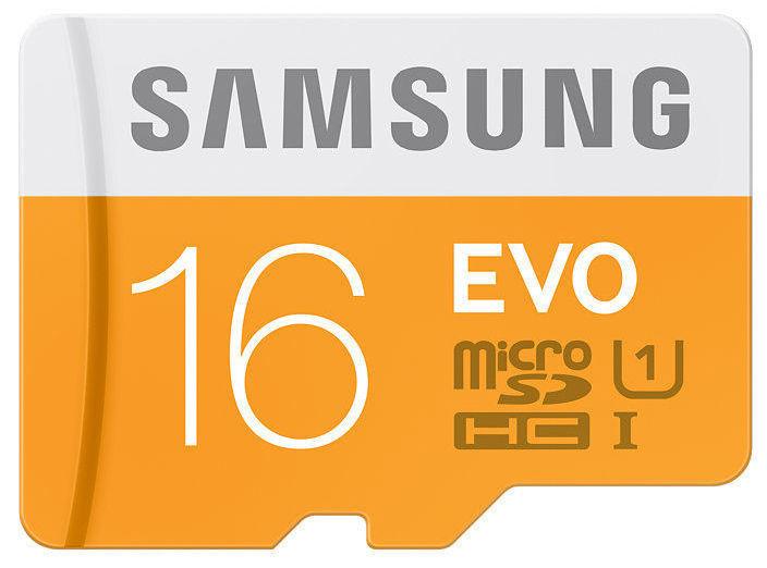 Samsung Micro SDHC karta 16GB EVO + čtečka USB