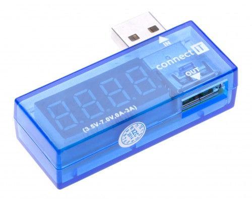 Connect IT SKITCI482 - USB měřič proudu a napětí