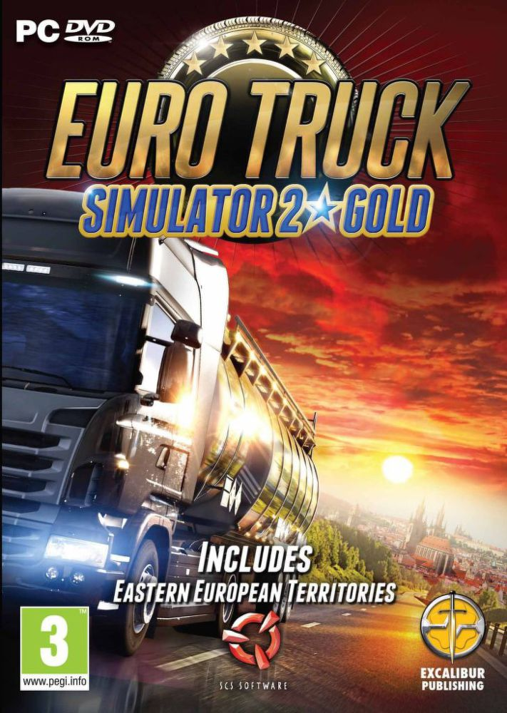 PC - Euro Truck Simulator 2 Gold