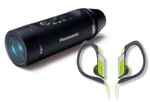 Panasonic HX-A1ME-K (černá) - kamera + sluchátka