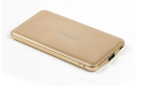 Maxco AA-1153 Razor MR-8000 power banka (zlatá)