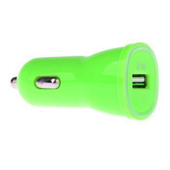 Winner autonabíječka USB (2,1A) (zelená)
